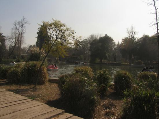 Parque Quinta Normal: la laguna