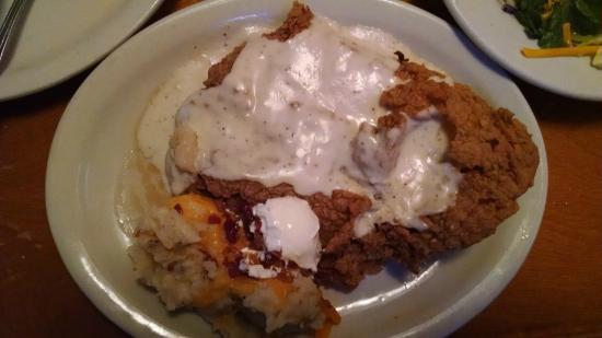 Texas Roadhouse: Country Fried Sirloin