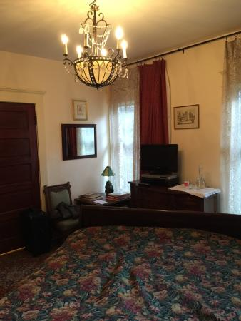 Mozart Guest House: Like going to a bygone era.