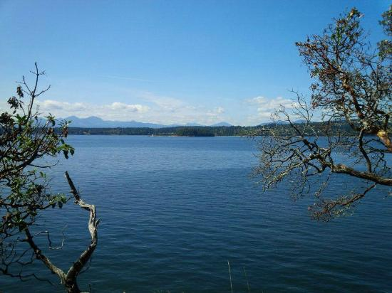 Nanaimo, Canada: View from picnic spot