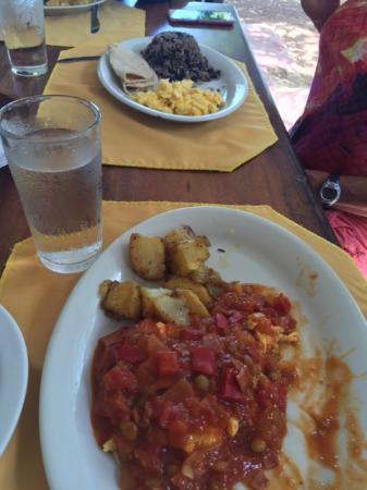 El Velero Restaurant : Costa Rica breakfast