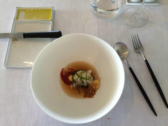 Hof van Cleve : Sepia appetiser