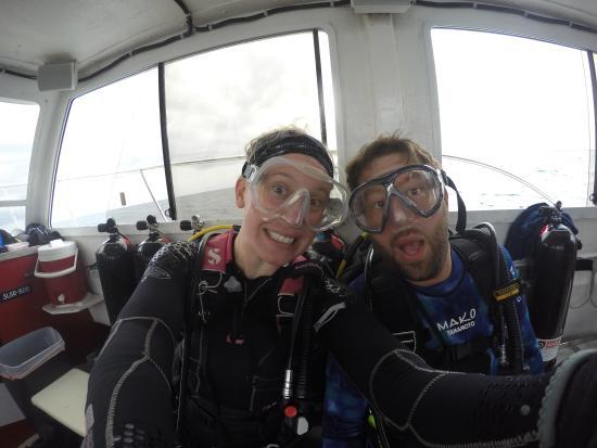 Jupiter, FL: About to dive
