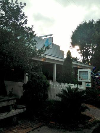 Aqua Restaurant : The entrance.