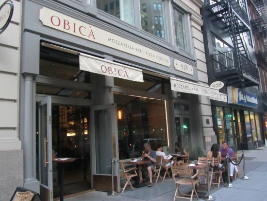 Entrance Of The Restaurant Picture Of Obica Mozzarella Bar