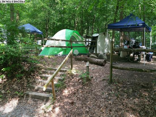 full hookup camping in tennessee