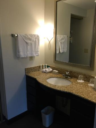 Homewood Suites by Hilton Manchester/Airport: Bathroom vanity