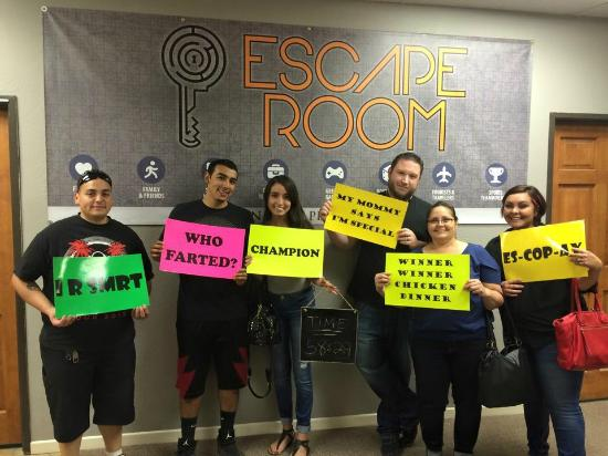 We escaped the blood map room picture of nm escape room for Escape room equipment