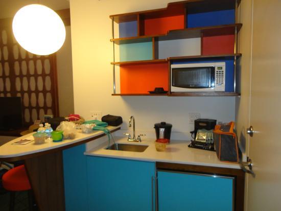 Universal S Cabana Bay Beach Resort Family Suite Kitchen