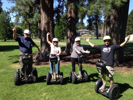 The Bend Tour Company: We had a great time on our first Segway tour in Bend OR! Great tour, great guides. Highly recomm