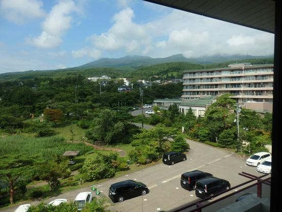 Dake Onsen: 安達太良山遠景