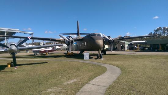 Queensland Air Museum: Carabau