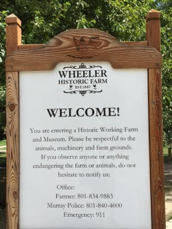wheeler historic farm wheeler farm signage - Wheeler Farm Halloween