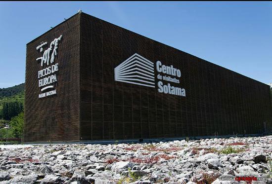 Cillorigo de Liebana, إسبانيا: Centro de visitantes de los Picos de Europa