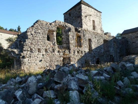 Mazan-l'Abbaye, فرنسا: l'abbaye