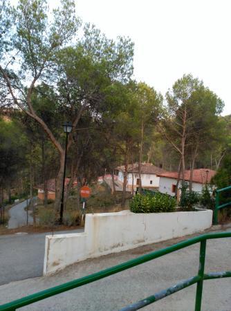 Balneario Hervideros de Cofrentes: Vistas exteriores habitaciones Hotel