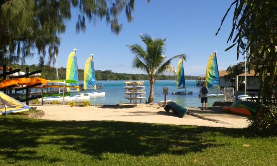 water sports picture of warwick le lagon vanuatu port. Black Bedroom Furniture Sets. Home Design Ideas