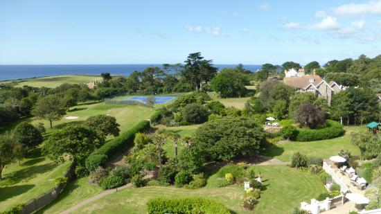 Thurlestone, UK: View over the garden from our room