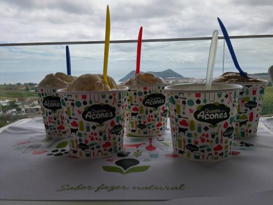 Quinta dos Acores: Les bonnes glaces