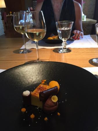 Les Belles Perdrix de Troplong Mondot: Juste pour saliver et souvenir... Le dessert...
