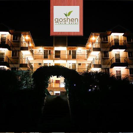 Goshen Farm Hotel Beautiful Night View Of The