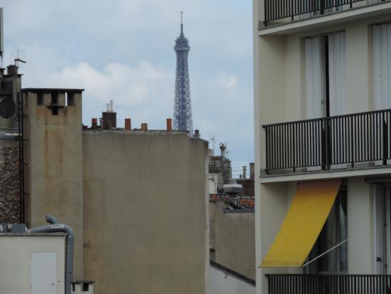 Hotel de l'Avenir : Vista desde la habitación