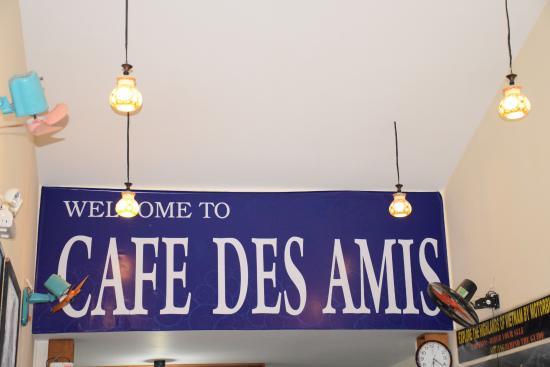 Cafe des Amis: Le café des Amis à Nha Trang