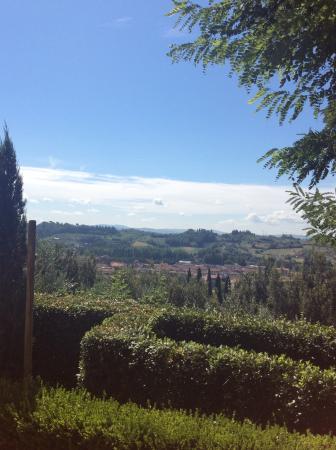 Villa il Colto: View from the pool deck