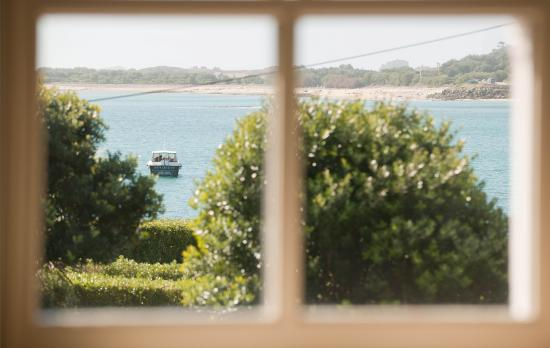 Tresco, UK: The New Inn Sea View Room