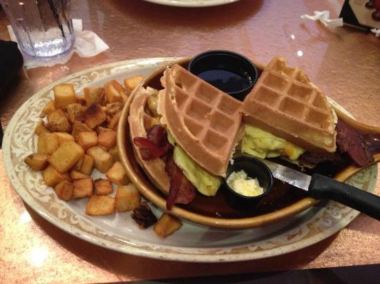 Waffle Sliders - Picture of Another Broken Egg Cafe, Boca Raton ...