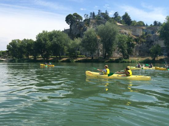 Canoe Vaucluse : Descente du Rhône