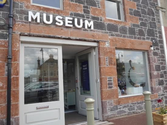 Biggar & Upper Clydesdale Museum entrance