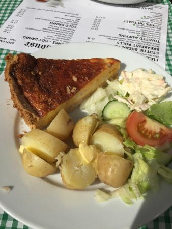 The Old Bakehouse: Beautiful quiche