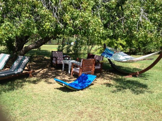 The Bay Beach Club: Bu köşe dinlenmek için ideal