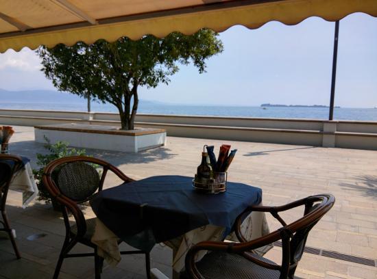 View From The Table Foto Di Al Veliero Gardone Riviera