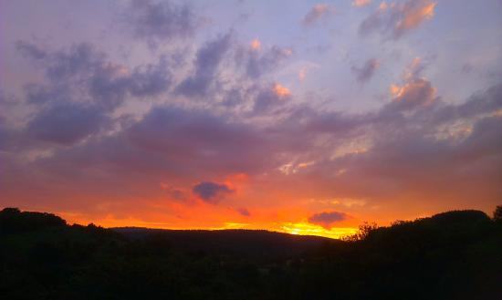 Earlswood, UK: Sunset