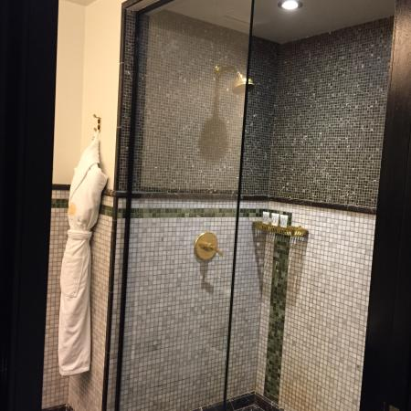 Beautiful Viceroy Central Park New York: Bathroom Tile Work Is Extraordinary.
