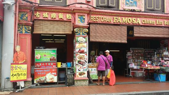 Kết quả hình ảnh cho Chicken Famosa ball rice Melaka