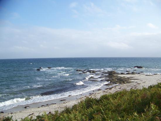 Camping de la Roche Percee : Sentier côtier Beg Meil
