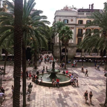 Pension Ambos Mundos: La vista desde la terraza