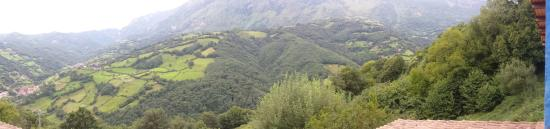 Riosa Municipality, Spanje: Vistas desde la suit Angliru