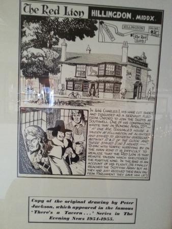 The Red Lion Hotel: Charles 1st Stayed Here