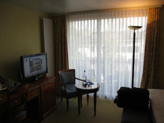 Engimatt City-Gardenhotel: ホテル・シングルルーム(バスタブ付)