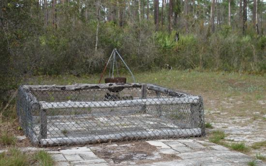 Hobe Sound, FL: Stock pen at Trapper Nelson's Camp