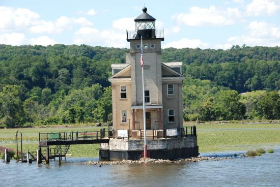 Rondout Lighthouse : From A Boat