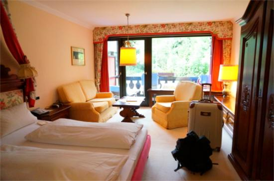 Bachmair Hotel am See: ダブルベットルーム
