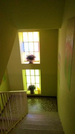 Agriturismo La Mussia: Scale per le stanze
