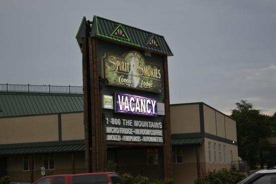 Spirit of the Smokies Condo Lodge: Signage