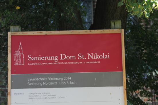 St. Nikolai Cathedral: pancarte