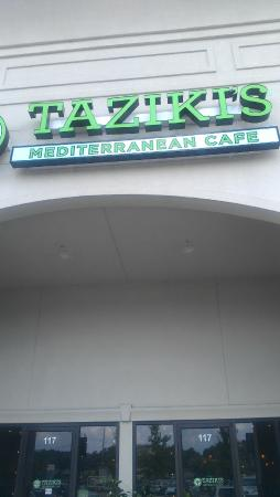Taziki's Mediterranean Cafe : This location is Hwy 31, just south of the Galleria, Chase Lake.